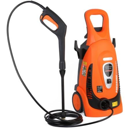 Orange colour Ivation IVA-9175L Electric Pressure Washer